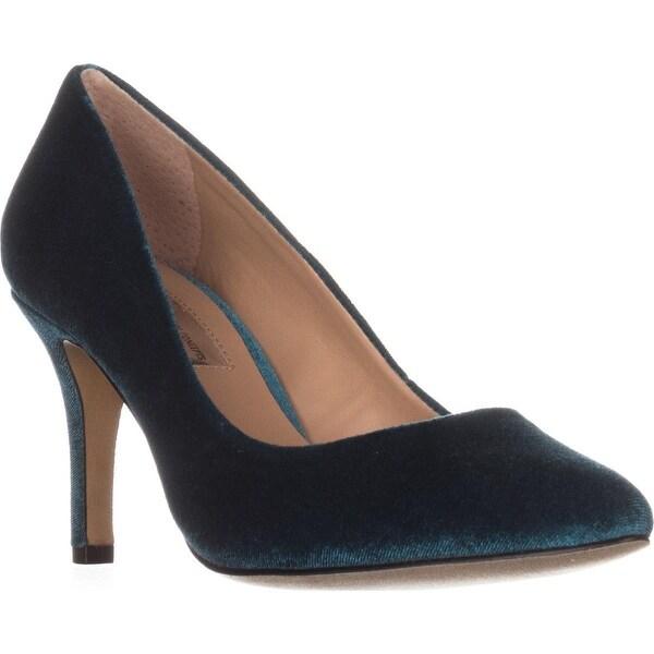 I35 Zitah5 Pointed-Toe Dress Classic Heels, Jade