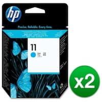 HP 11 Cyan Printhead (C4811A) (2-Pack)
