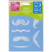 """Mustaches - Americana Decor Stencil 6""""X8"""""""