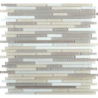 "Emser Tile W87INFI1212MOL Infinity - 11-3/4"" x 11-3/4"" Linear Mosaic Multi-Surfa - N/A"