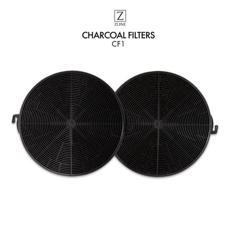 """ZLINE Set of Two(2) Charcoal Filters (CF1) - 10"""""""