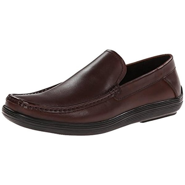 Kenneth Cole Mens Drive Me Crazy Loafers Leather Casual