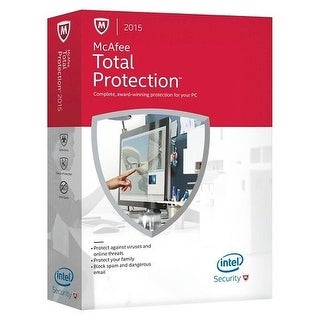 McAfee 2015 Total Protection 3 Devices for Windows