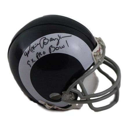 finest selection baaa6 2cc74 Maxie Baughan Autographed Los Angeles Rams Mini Helmet 9x Pro Bowl SGC
