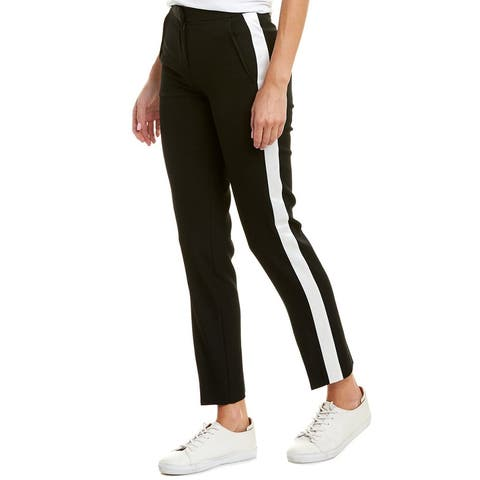 Burberry Straight Fit Wool Pant