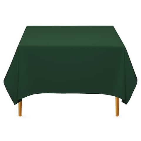 "70 x 70"" Square Premium Tablecloth - Hunter Green by Lann's Linens"