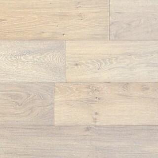 "Mission - 7-1/2"" Engineered Hardwood Flooring - Handscraped White Oak Wood - Sold by Carton (36 SF/Carton)"