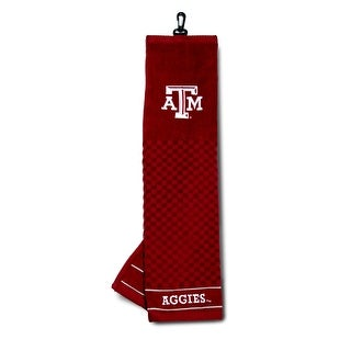 Texas A&M University Embroidered Golf Towel
