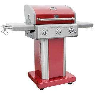 Link to Kenmore 3 Burner Pedestal Grill Similar Items in Grills & Outdoor Cooking