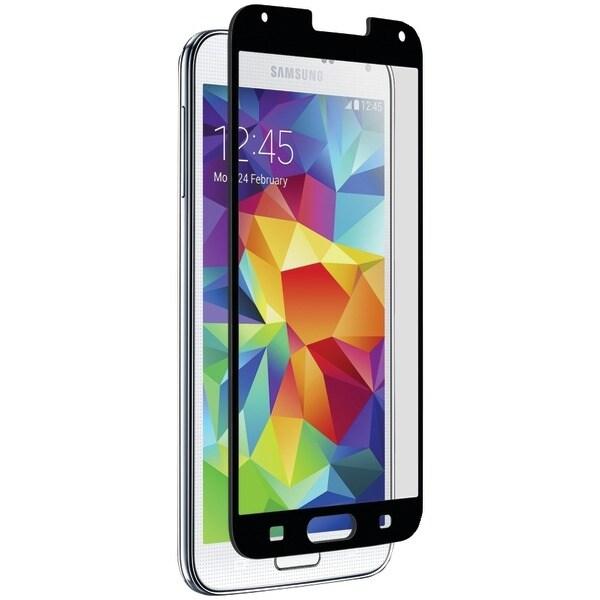 Znitro 700358625701 Samsung(R) Galaxy S(R) 5 Nitro Glass Screen Protector (Black)