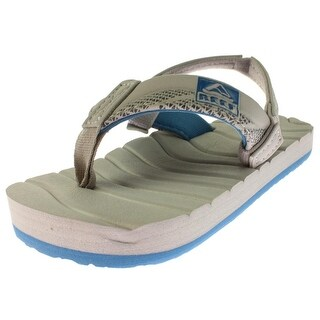 Reef Boys Grom Roundhouse Sandals Textured Slingback