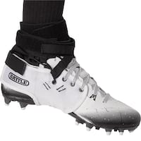 Battle Sports Science XFAST Over the Cleat Ankle Support System - White