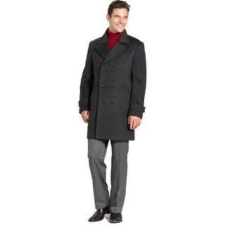 Kenneth Cole Coat Winchester Overcoat 40 Long 40L