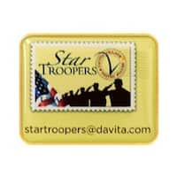 1.25 x 1 in. Rectangle Vibraprint Lapel Pin with Rounded Corners