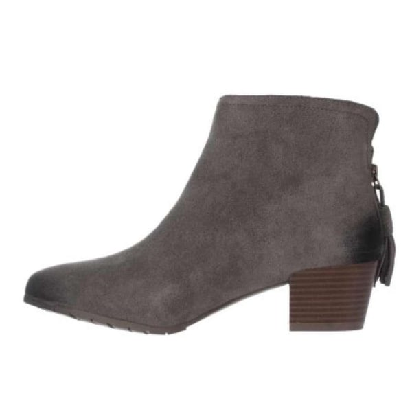 Kenneth Cole Reaction Womens Pilage Leather Closed Toe Ankle Fashion Boots Fa...