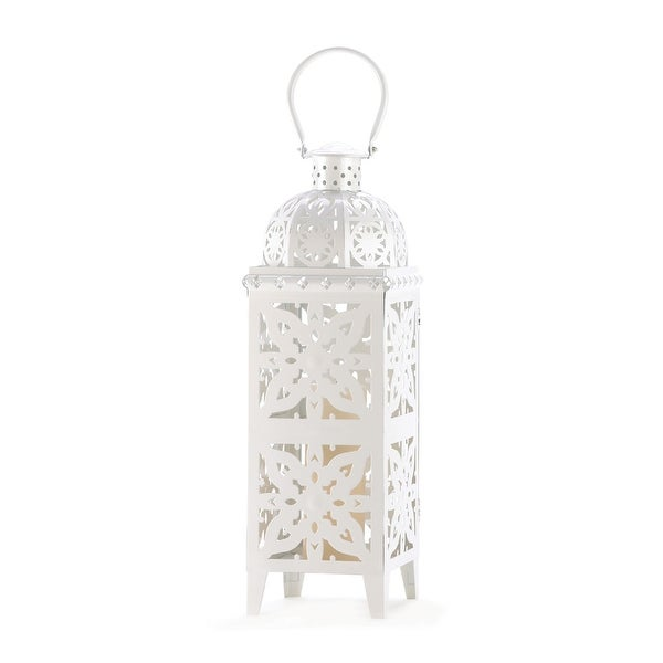 Giant Size White Medallion Lantern