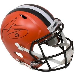 Jarvis Landry Signed Cleveland Browns Full Size Speed Replica Helmet JSA