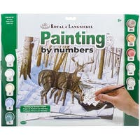 """Paint By Number Kit 15.375""""X11.25""""-Winter Bliss"""