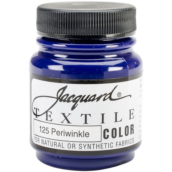 Jacquard Textile Color Fabric Paint 2.25oz-Periwinkle