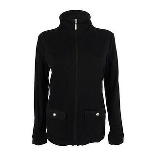 Karen Scott Women's Long Sleeve Jacket