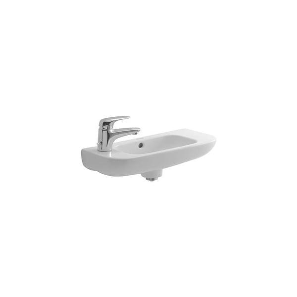 duravit 706500009 d code 19 34 ceramic wall mounted bathroom sink - Wall Mounted Bathroom Sink