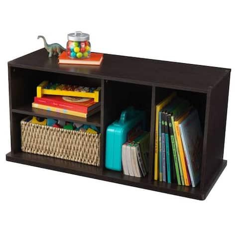 KidKraft: Storage Unit with Shelves - Espresso