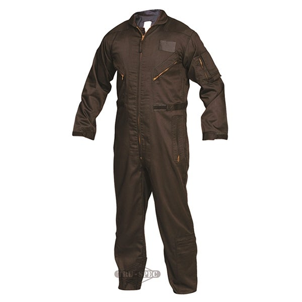 Tru-Spec 27-P Flight Suit Black L-Reg 2653005