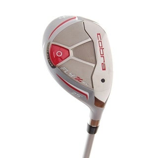 New Cobra Ladies Fly-Z XL (Red) Hybrid #4 25* Graphite 55g RH +HC