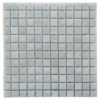 "Miseno MT-LEEDSIENNA3/4SQ Leed Sienna - 3/4"" X 3/4"" - Glass Visual - Wall Tile (Sold by Sheet)"