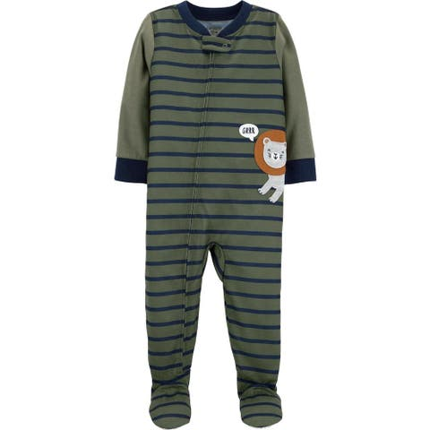 Carters Boys 2T-5T Lion Sleeper - Green