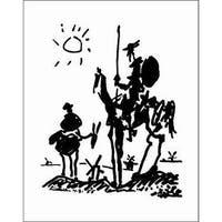 ''Don Quixote'' by Pablo Picasso Huntington Graphics Art Print (28 x 22 in.)