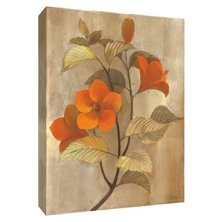 """PTM Images 9-154697  PTM Canvas Collection 10"""" x 8"""" - """"Hibiscus Stem II"""" Giclee Hibiscus Art Print on Canvas"""