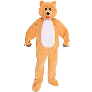 Forum Novelties Promotional Honey Bear Mascot Adult Costume - Orange - Standard