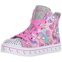 Skechers Kids Girls' Twi-Lites-Princess Party Sneaker, Multi, 13 Medium Us Little Kid