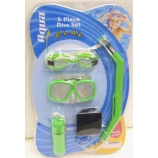 Aqua Leisure AQK1522 Aqua Sport Play Junior 5-Piece Dive Set