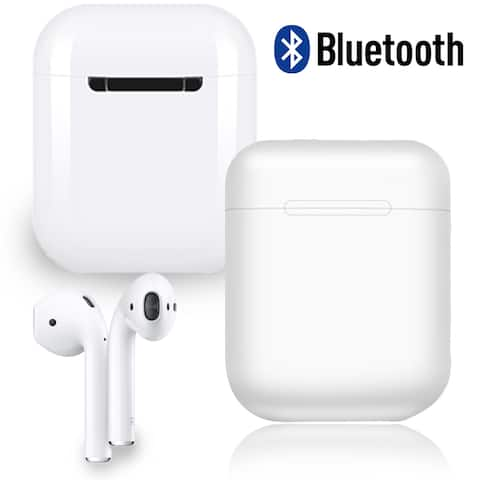Cordless Stereo Sync Bluetooth 5.0 Earbuds Accept/Reject Call Ultra-Light w/ Mic Long Life Battery Noise Cancelling -NEW
