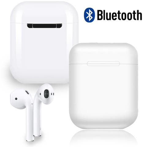 Wireless Bluetooth 5.0 Headphone EarBuds and Mic - Magnetic Charging Case Included - Compact and Long Life