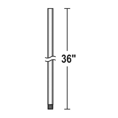 """Savoy House SH DR-12 12"""" x 1/2"""" Downrod for Savoy House Ceiling Fans"""