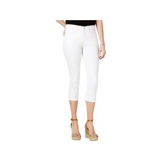 NYDJ Womens Alina Capri Jeans Denim Mid-Rise