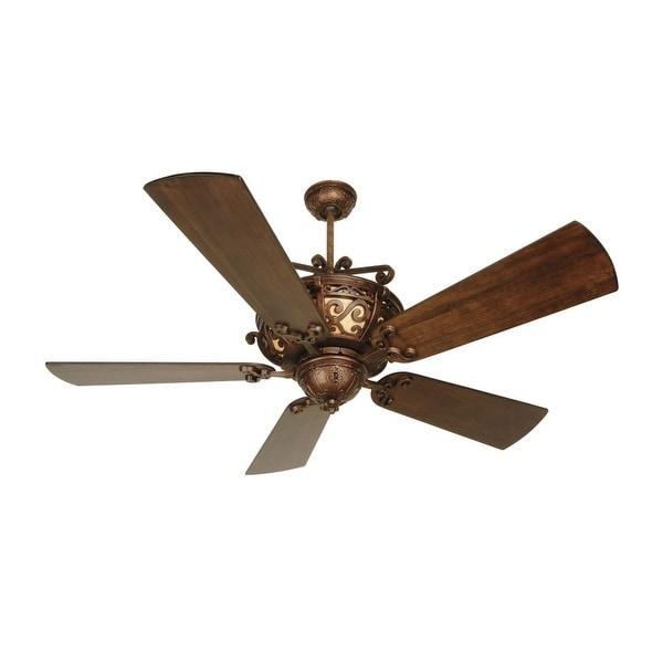 "Craftmade K10765 Toscana 54"" 5 Blade Indoor Ceiling Fan - Blades Included - peruvian"
