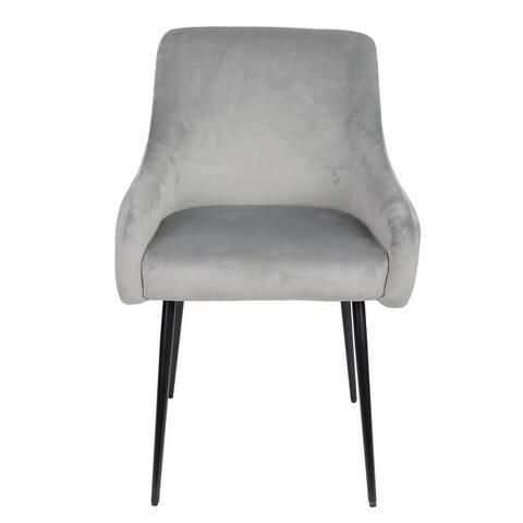 Nathaniel Velvet Accent Chair