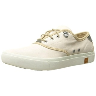 Timberland Womens Amherst Canvas Lace Up Oxfords - 11 medium (b,m)