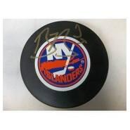 Signed Berard Bryan New York Islanders New York Islanders Hockey Puck autographed