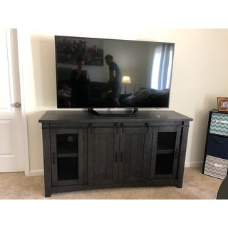 Shop Martin Svensson Home Sierra 65 Grey Tv Stand 65 Inches In