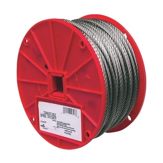 Campbell 250 1/4 7X19 Ss Cable
