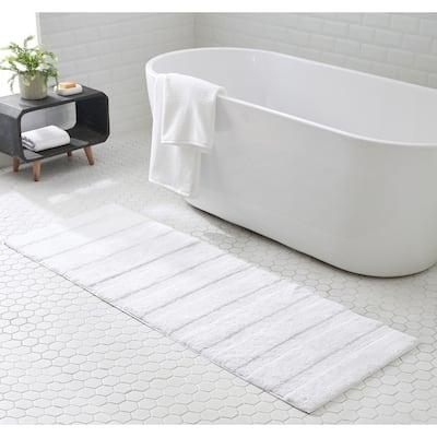 ED Ellen DeGeneres Manchester Solid Cotton Bath Runner Rug