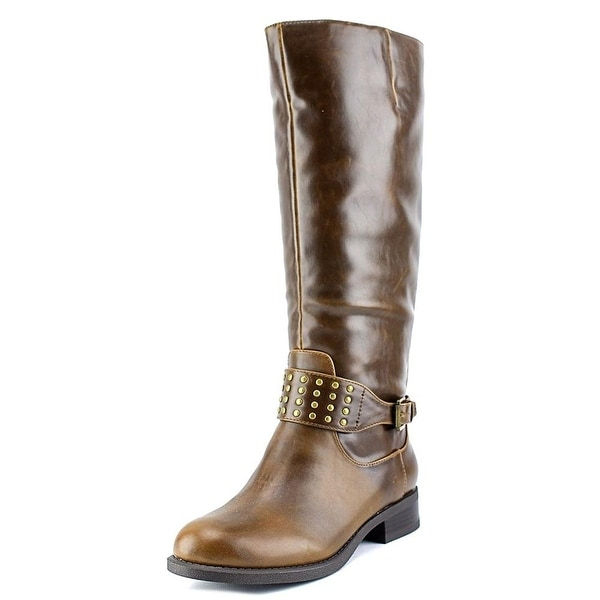 American Living Womens Jaycee Closed Toe Mid-Calf Cowboy Boots