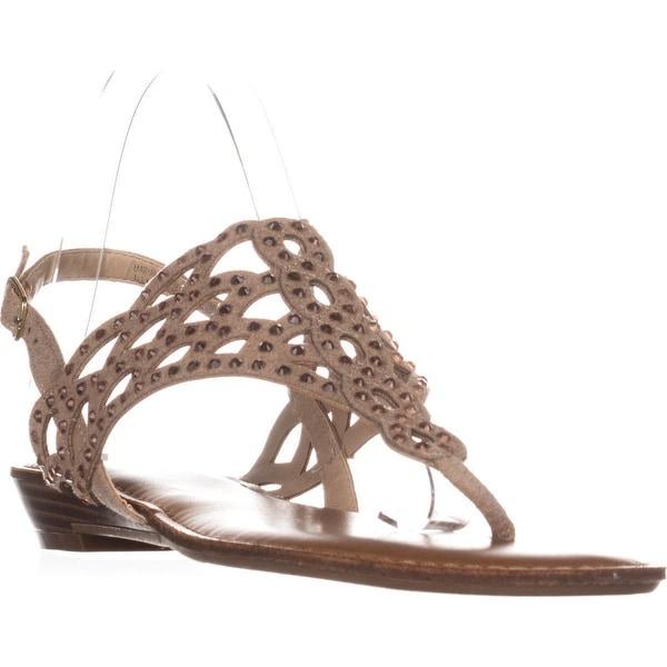 ZiGiSoho Mariane Flat Thong Sandals, Cinnamon