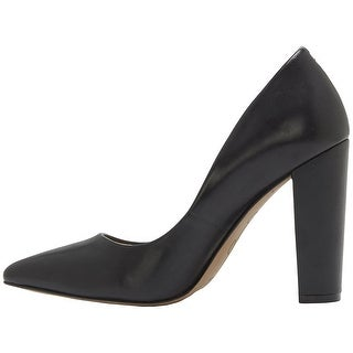 Jessica Simpson Womens Tanysha Leather Pointed Toe Classic Pumps