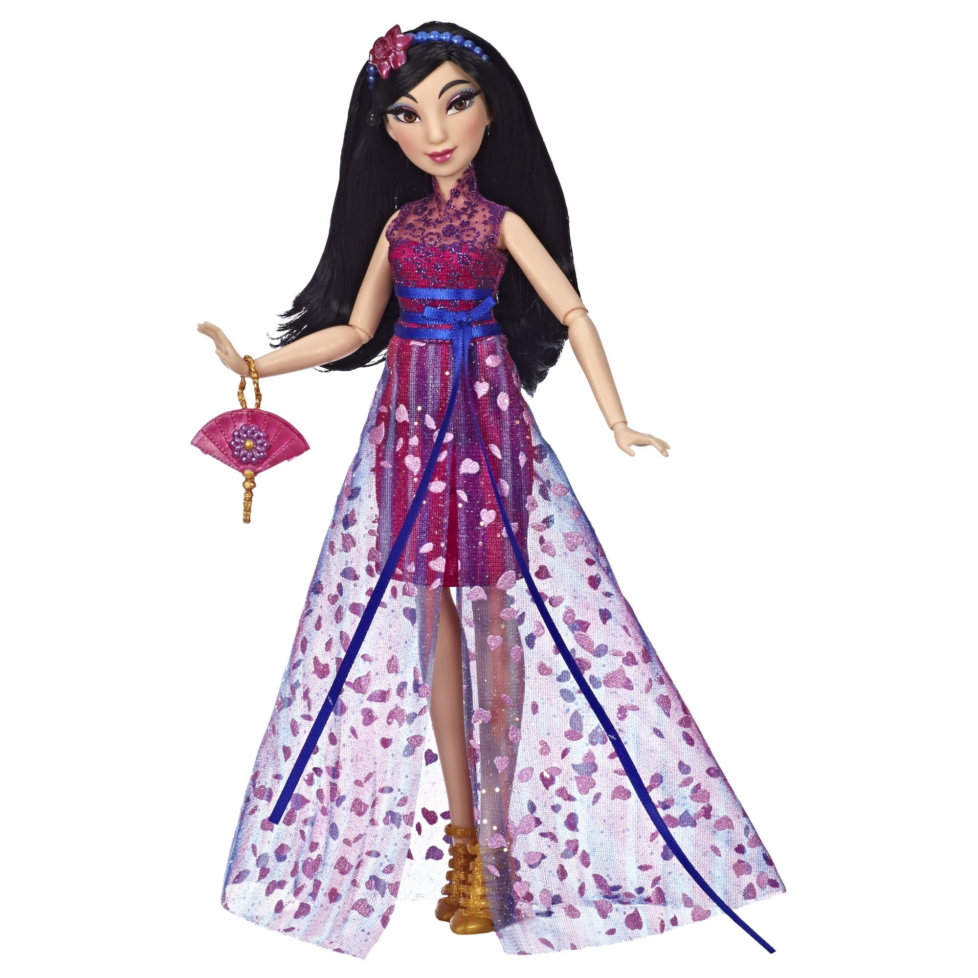 Shop Disney Princess Style Series Mulan Doll In Contemporary Style With Purse And Shoes Overstock 31668942